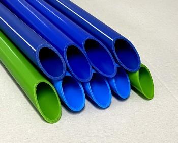 Труба синяя Тип  «Blue Aqua» и зеленая Тип «Green Aqua»