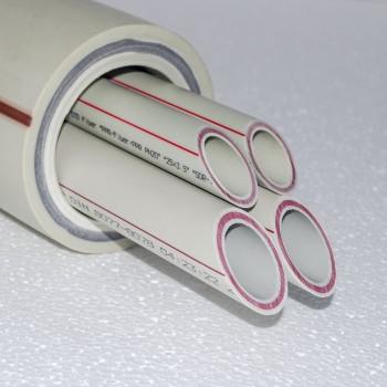 Труба полипропиленовая, армированная стекловолокном PPr-Fiber PN20